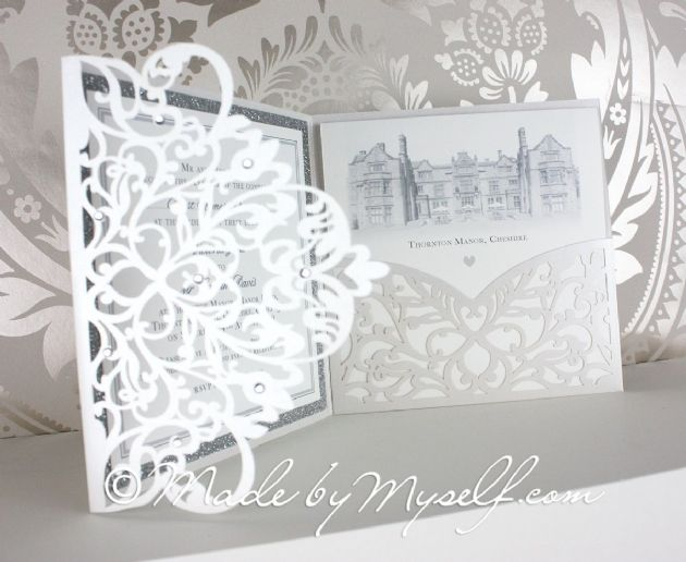 Thornton Manor Laser Cut Pocketfold
